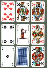 Collectible Advertising Non-standard court playing cards DTV 1975